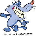 cartoon cat grinning   Shutterstock .eps vector #624832778