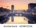 dublin  ireland. 08 april  2017 ...   Shutterstock . vector #624841526