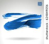 brush stroke and texture.... | Shutterstock .eps vector #624849056