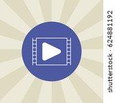 play button icon. sign design....   Shutterstock .eps vector #624881192