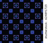 abstract geometric illustration.... | Shutterstock .eps vector #624891725