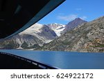 view of mountains and glaciers...   Shutterstock . vector #624922172