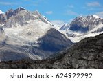 closeup of mountains and...   Shutterstock . vector #624922292