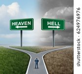 Heaven And Hell Crossroad Life...