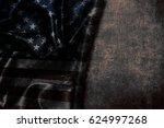 usa flag vintage background | Shutterstock . vector #624997268