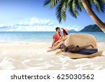 summer time  | Shutterstock . vector #625030562