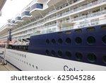 celebrity millennium  passenger ... | Shutterstock . vector #625045286