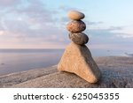 balancing several of stones on... | Shutterstock . vector #625045355