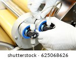 setting up the machine before... | Shutterstock . vector #625068626