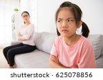 asian cute little girl...   Shutterstock . vector #625078856