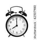 alarm clock shows eight o clock ... | Shutterstock . vector #62507980