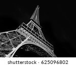 black and white view of the... | Shutterstock . vector #625096802