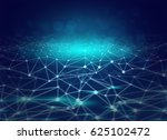 land of the blue networking | Shutterstock . vector #625102472