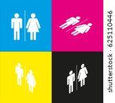 restroom sign illustration....   Shutterstock .eps vector #625110446