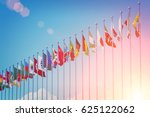Flags Of Different Countries O...