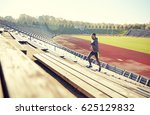 fitness  sport  exercising and... | Shutterstock . vector #625129832