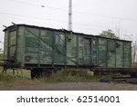 Abandoned  Old Train Made Of...
