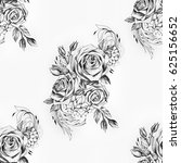 seamless pattern of beautiful... | Shutterstock . vector #625156652