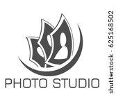 photo studio logo design...   Shutterstock .eps vector #625168502