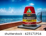 southernmost point continental... | Shutterstock . vector #625171916