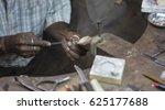indian jeweler making an...   Shutterstock . vector #625177688