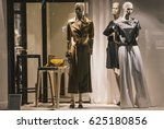 fancy clothing on mannequins in ... | Shutterstock . vector #625180856