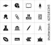 set of 16 editable university...