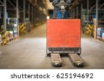 pallet jack ready to work | Shutterstock . vector #625194692