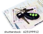 a bunch of keys and documents... | Shutterstock . vector #625199912