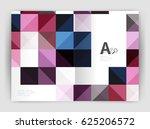 vector square minimalistic... | Shutterstock .eps vector #625206572