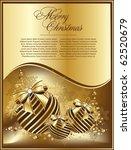 vector beautiful  gold balls   Shutterstock .eps vector #62520679