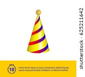 cone hat cap | Shutterstock .eps vector #625211642