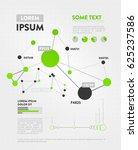 futuristic infographic.... | Shutterstock .eps vector #625237586