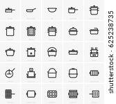 pans   pots | Shutterstock .eps vector #625238735