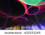 lighting effect in the dark ... | Shutterstock . vector #625251245