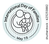 international day of families.... | Shutterstock .eps vector #625253882