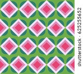 seamless geometric pattern with ... | Shutterstock .eps vector #625255652