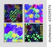abstract vector background dot... | Shutterstock .eps vector #625259576