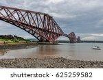 famous forth bridge in...