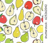 vector seamless pattern with... | Shutterstock .eps vector #625262042