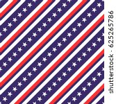 usa patriotic seamless pattern... | Shutterstock .eps vector #625265786