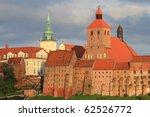 Grudziadz old town in Poland - stock photo