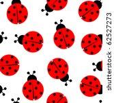 Ladybug Seamless Pattern ...