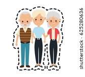 people or family members icon... | Shutterstock .eps vector #625280636