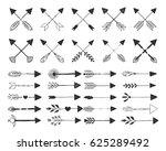 different crossed arrows | Shutterstock .eps vector #625289492