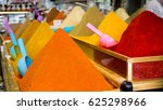 various spices in a traditional ... | Shutterstock . vector #625298966