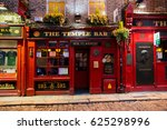 dublin  ireland   feb 15  2014  ... | Shutterstock . vector #625298996