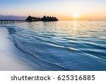 luxury resort in the indian... | Shutterstock . vector #625316885