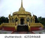 chongkham buddha vihar ... | Shutterstock . vector #625344668