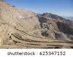 copper mine near to santiago ... | Shutterstock . vector #625347152